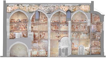 800 les peintures murales de l 39 glise. Black Bedroom Furniture Sets. Home Design Ideas