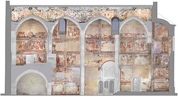 Kloster St. Johann: 800 Le pitture murali della chiesa